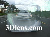 Wide Angle Rear Window Lens